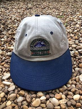 Colorado Rockies Coors Field hat