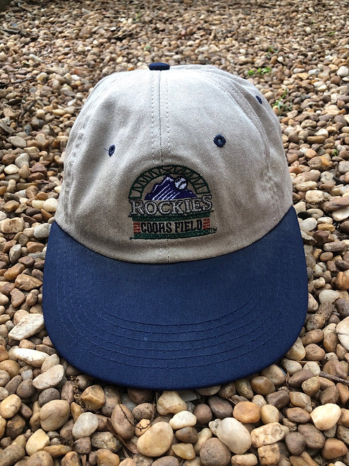 Colorado Rockies Coors Field hat