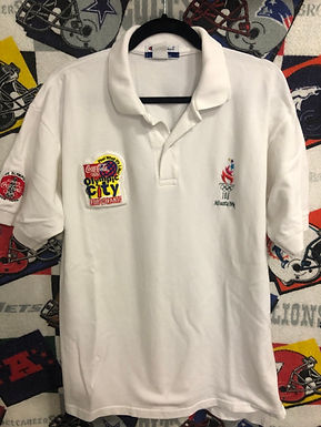 Vintage Atlanta Olympic polo medium