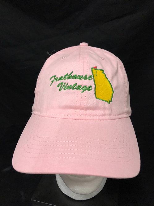Frathouse Vintage pink hat