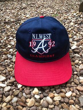1992 Atlanta Braves hat
