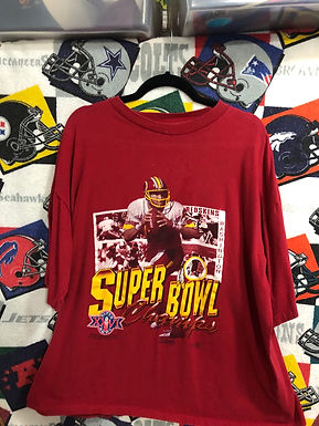 Vintage Red Skins super bowl tshirt XL