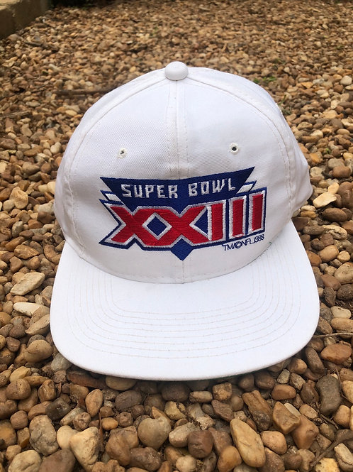 Super Bowl XXIII hat