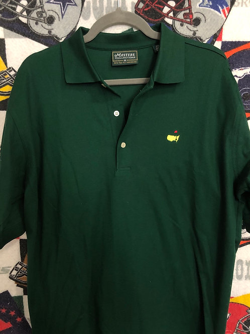 Masters green polo medium
