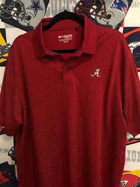UA Alabama Columbia polo XL