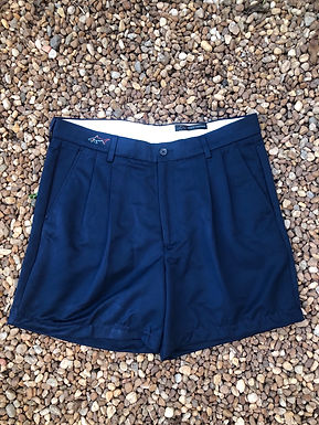 Greg Norman navy shorts sz 32w