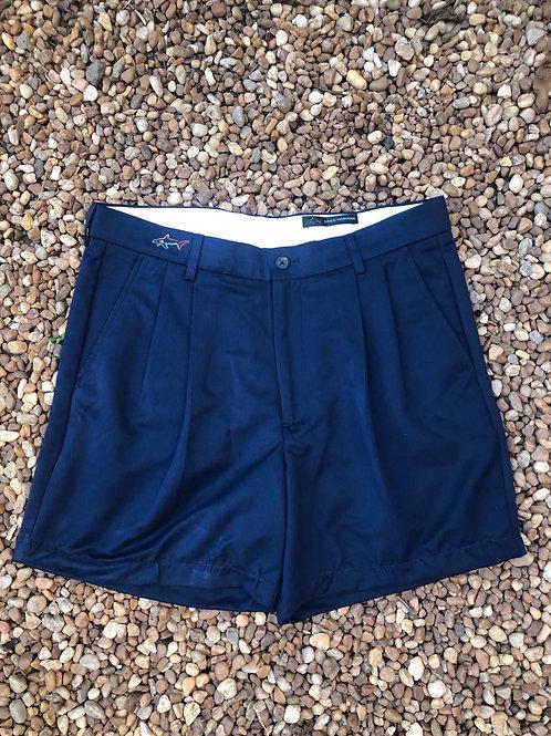 Greg Norman navy shorts sz 32w