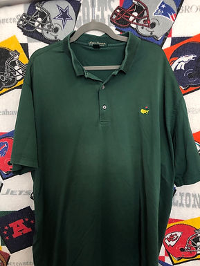 Masters Green polo 2XL