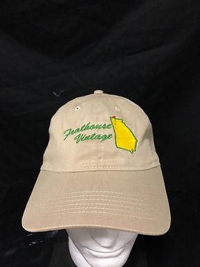 Frathouse vintage khaki hat