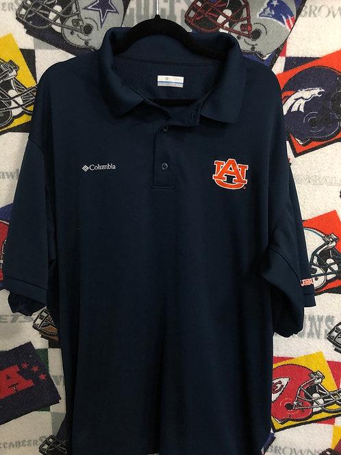Auburn Columbia polo XL