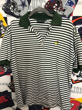 Masters striped polo small