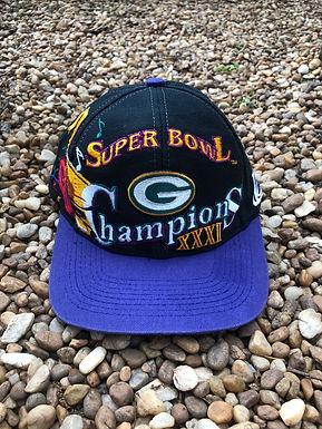 Super Bowl XXXI Greenbay Packers Champions hat
