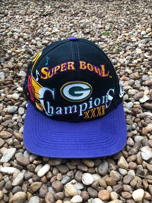 Super Bowl XXXI Greenbay Packers Champions hat