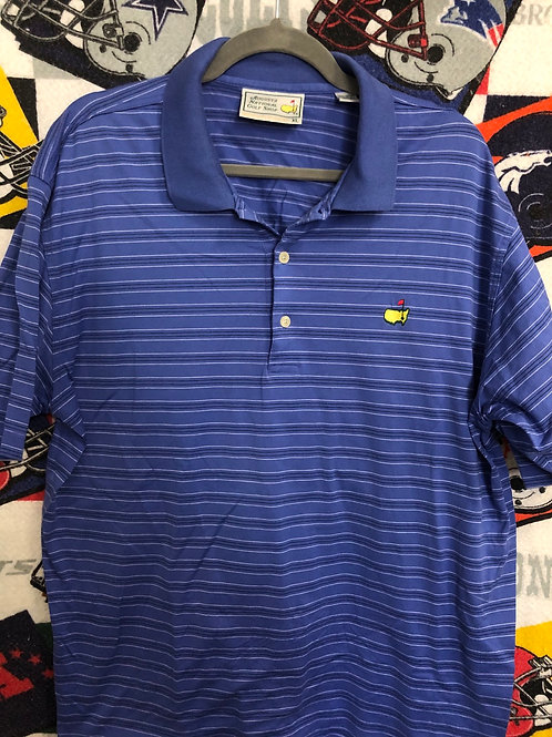 Blue masters polo XL