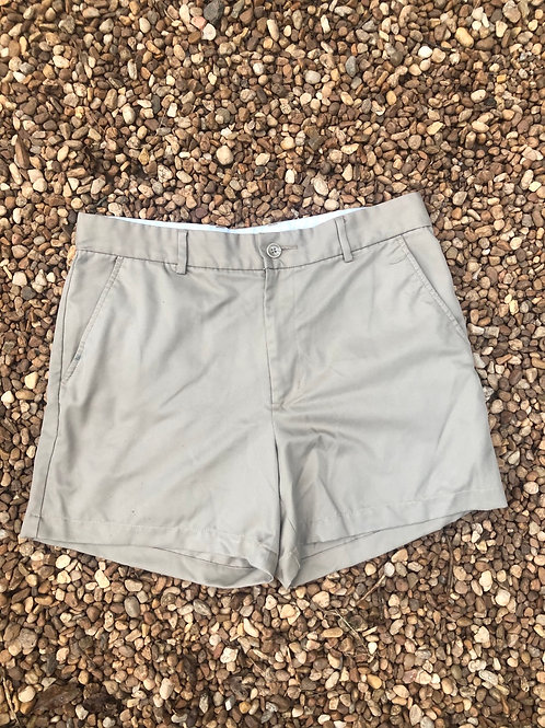 Greg Norman khaki shorts sz 32