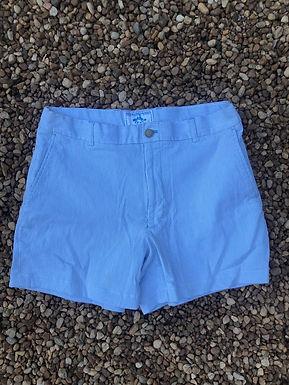 Southern tide light blue striped shorts sz 33