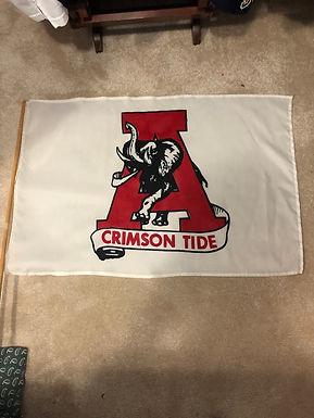 Vintage 90s Alabama flag
