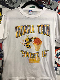 1990 Georgia Tech final four T-shirt    Small