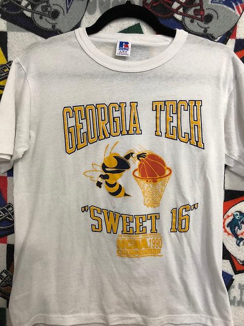 1990 Georgia Tech final four T-shirt    Small