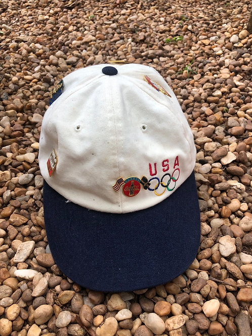 USA Olympics with 6 pins hat