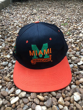 Miami Hurricanes hat