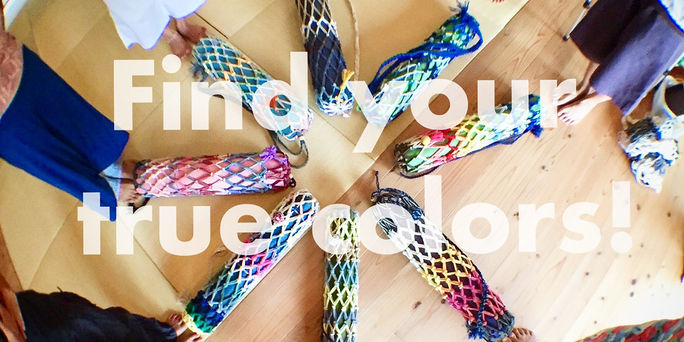 あなたの色を見つけよう!「ヨガ and ワッカ紐で作るヨガマットバッグ」