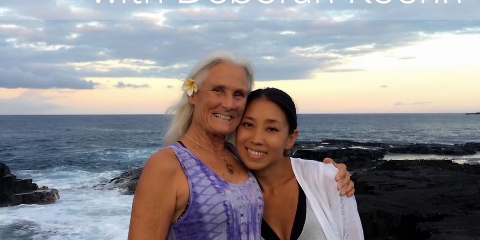 【オンライン】FIND YOUR BALACE with Deborah Koehn  〜デボラと見つける私のバランス