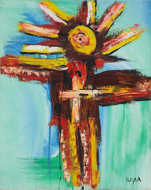 Kayava - Modern crucifixion (40x50cm)