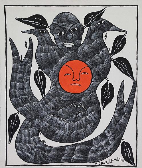 Nesly Richard - Almighty sun (50x60cm)