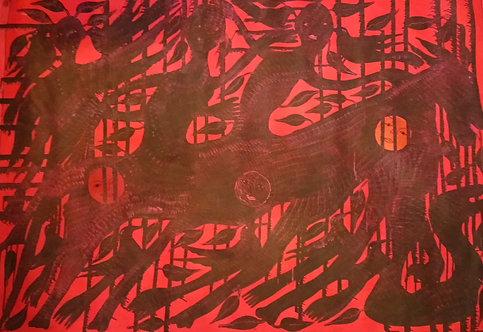 Nesly Richard - Degeneration (50x70 inc)