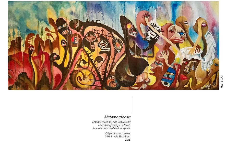 AYITI Gallery. Haitian Artist Kayava. Haitian art. Visionary artist. Haiti.