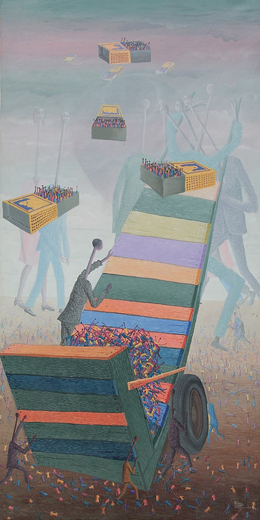 Jonas Profil - Migration (60x122cm)