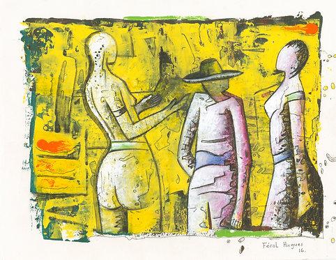 Hugues Ferol - Trickery (28x36cm)