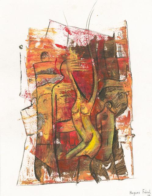 Hugues Ferol - Temptation (28x36cm)