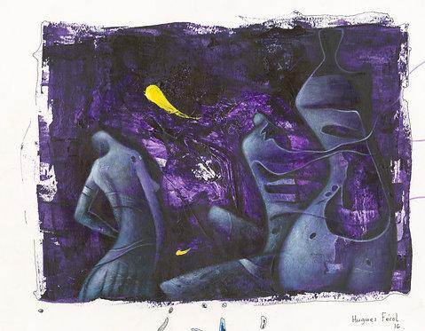 Hugues Ferol - Phantasm (28x36cm)