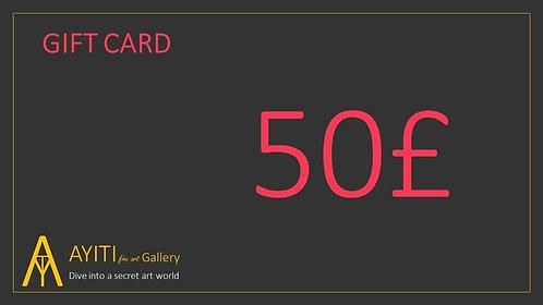 Gift Card £50