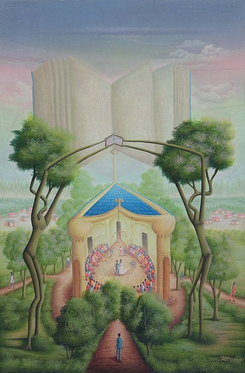 Makenol Profil - The book of the marriage (60x90cm)