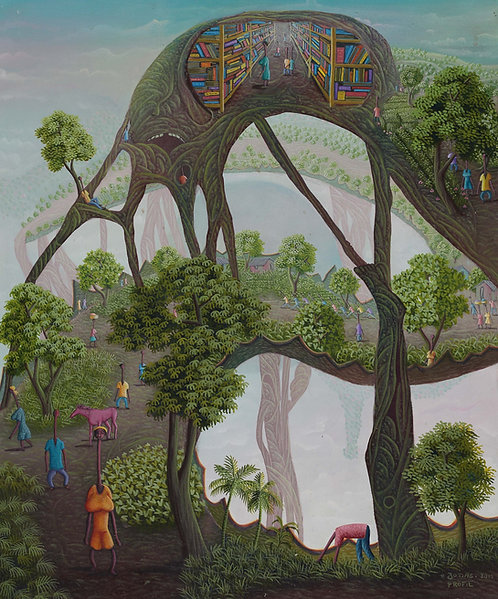 Jonas Profil - Learn from Nature (50x60cm)