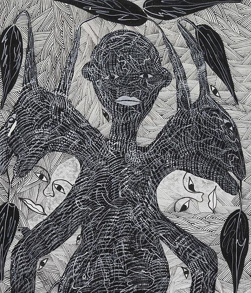 Nesly Richard - Illusion (40x90cm)