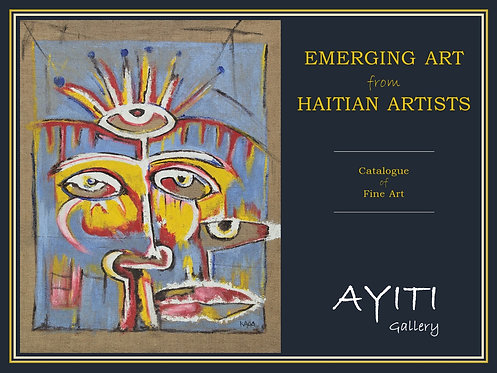 Print catalogue of Haitian fine art