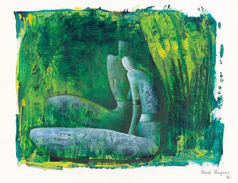 Hugues Ferol - Intimacy (28x36cm)