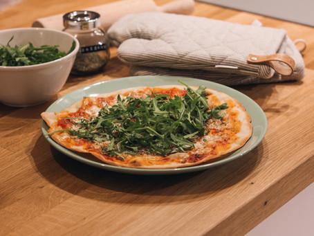 Przepis na domową pizzę