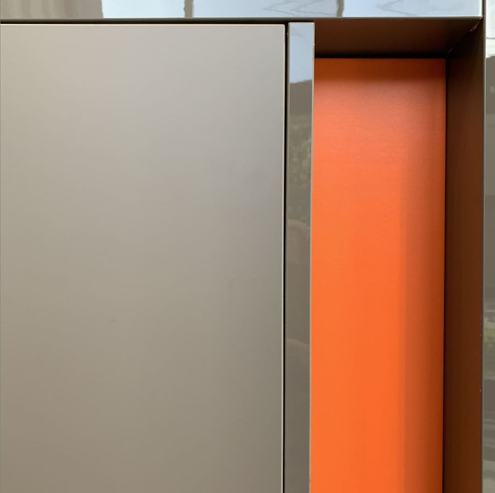 Be bold, color up your life... and your cabinetry.