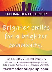 Tacoma Dental Group Postcard Frontside v