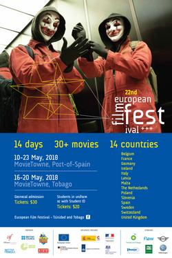 22nd European Film Festival Poster