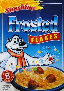 Universal Foods - Frosted Flakes