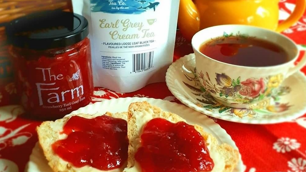Tea Party - Jam, Scones & Tea