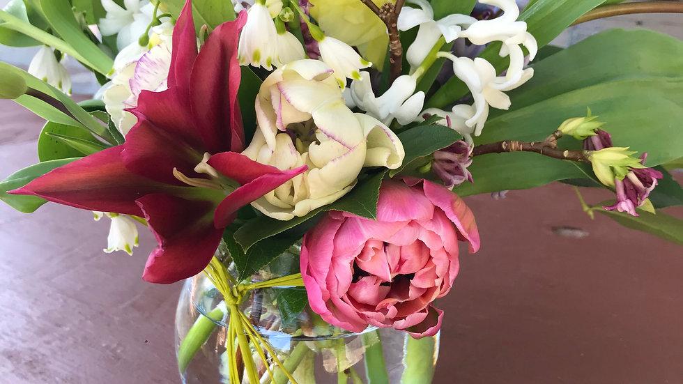 Posey Bowl Flower Arrangement