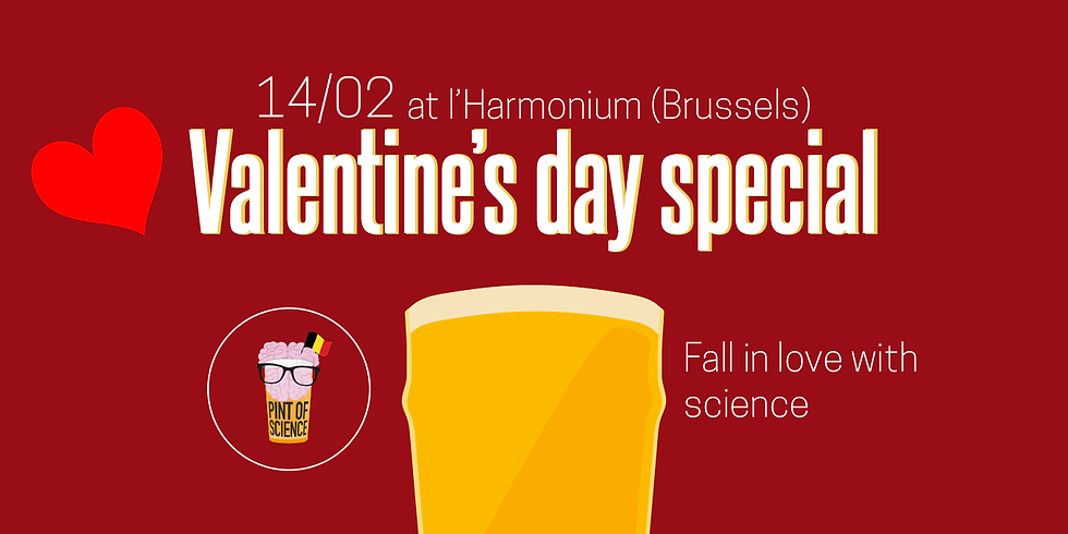 Valentine's Day Special   Fall in love with Science!