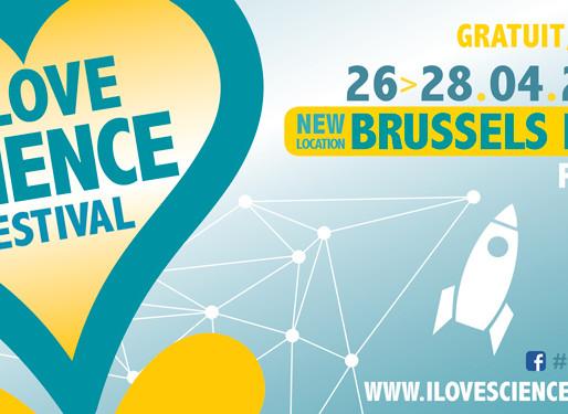 I Love Science Festival: the programme!